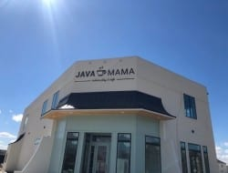 Acrylic letters fabricated in house and installed at the new Java Mama in Central LA