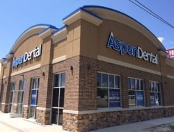 Brightbox-installed-3-sets-of-front-lit-channel-letters-for-the-new-Aspen-Dental-in-Hammond