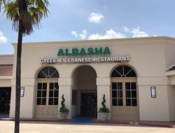 Custom fabricated channel letters made and installed in house for our friends at Albasha