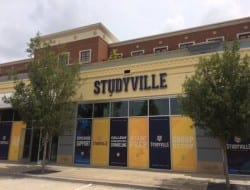 Front lit channel letters for Studyvilles new location in Perkins Rowe