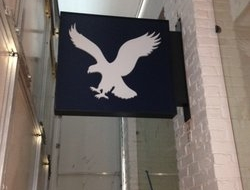 Installed the new American Eagle Blade Sign for the Mall of LA